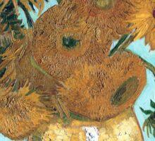Vincent van Gogh - Still Life - Vase with Twelve Sunflowers Sticker