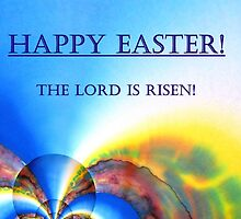 """Easter card """" The Lord is Risen!"""" by CarolineLembke"""