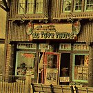 """Gatlinburg, Tennessee Series, #5, 'The Old Timey Photo Shop, 2nd Picture'""... prints and products by © Bob Hall"