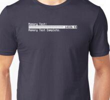 Memory Test (On dark background) Unisex T-Shirt