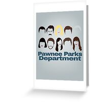 Parks Crew Greeting Card
