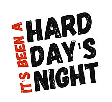 Hard Day's Night  Photographic Print