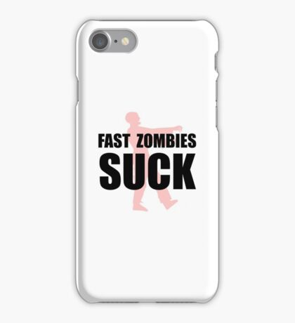 Fast Zombies iPhone Case/Skin