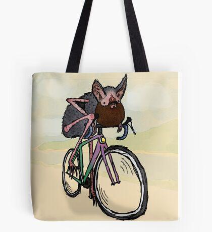 Bearded bat-man - Bike ride Tote Bag