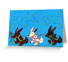 Chocolate Parade Greeting Card