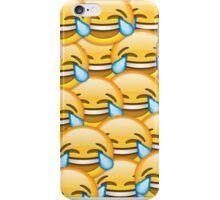 Laughing face emoji iPhone Case/Skin