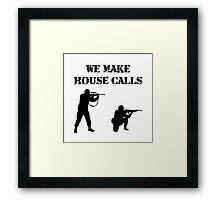House Calls Framed Print