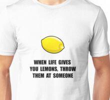 Lemon Throw Unisex T-Shirt