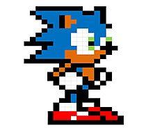 Sonic! Photographic Print