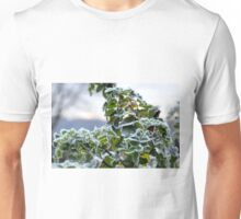 Frosted Rose Leaves........ Unisex T-Shirt