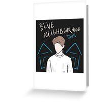 TROYE SIVAN BLUE NEIGHBOURHOOD TOUR Greeting Card
