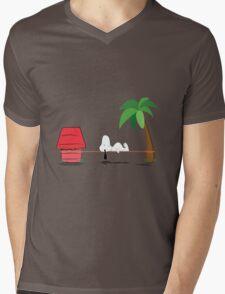 Snoopline Mens V-Neck T-Shirt