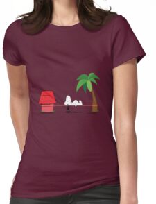 Snoopline Womens Fitted T-Shirt
