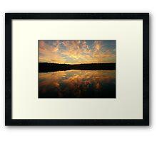 Sunrise in Nova Scotia Framed Print