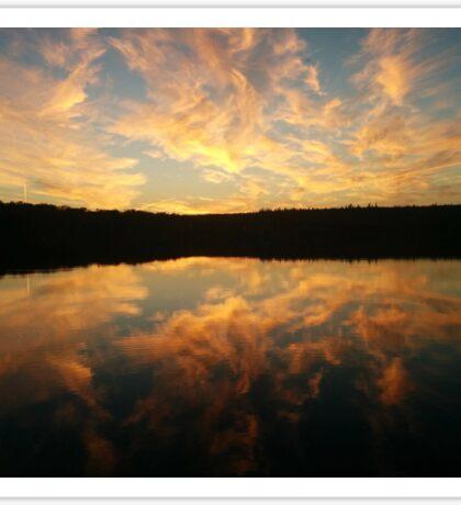Sunrise in Nova Scotia Sticker