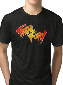 Fatal Fury: King of Fighters Tri-blend T-Shirt