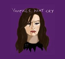 Vampires Don't Cry Women's Fitted Scoop T-Shirt
