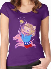 The Hilarious Rider Women's Fitted Scoop T-Shirt