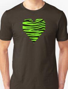 0354 Lawn Green Tiger Unisex T-Shirt