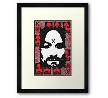 Charles Manson. Framed Print