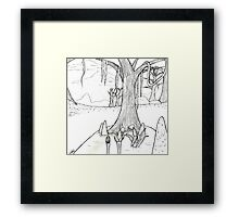 Bitter Coast Scenery Framed Print