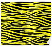 0355 Lemon Tiger Poster