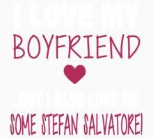 Love Me Some Stefan Salvatore Baby Tee