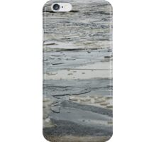 Ice floes shards iPhone Case/Skin