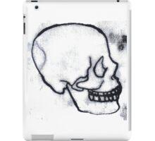 mono skull black iPad Case/Skin