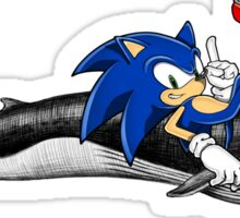 Sonic the Hedgehog - Whale? Sticker