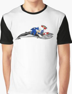 Sonic the Hedgehog - Whale? Graphic T-Shirt