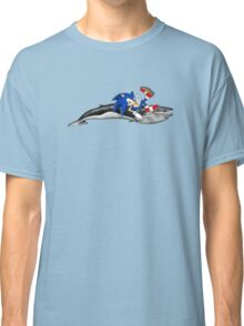 Sonic the Hedgehog - Whale? Classic T-Shirt