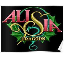 Alisia Dragoon (Genesis Title Screen) Poster
