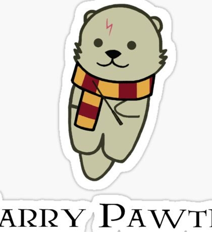 Harry Pawter Sticker