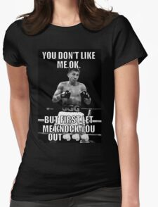 GGG (GOLOVKIN) Womens Fitted T-Shirt
