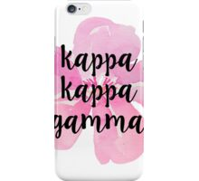 Kappa Kappa Gamma iPhone Case/Skin