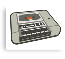 Commodore 64 Datasette Tape Recorder Canvas Print