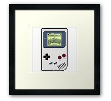 Game Boy Street Fighter II Framed Print
