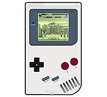 Game Boy Street Fighter II Photographic Print