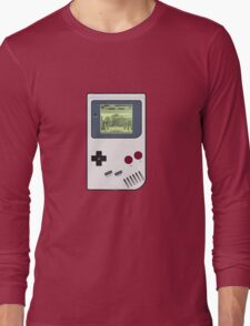 Game Boy Street Fighter II Long Sleeve T-Shirt
