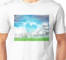 Hearts and Clouds Unisex T-Shirt