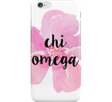 Chi Omega iPhone Case/Skin