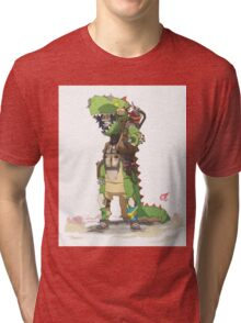 Fury Beats - Tea-Wrecks Tri-blend T-Shirt