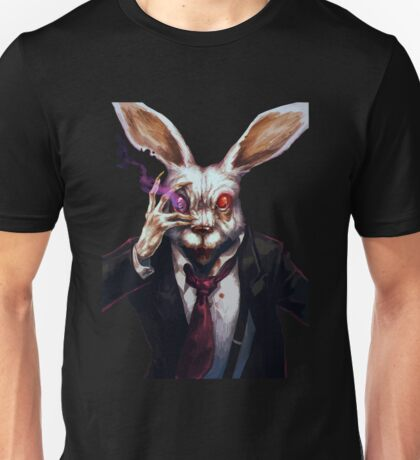 Easter Bunny Zombie  Unisex T-Shirt