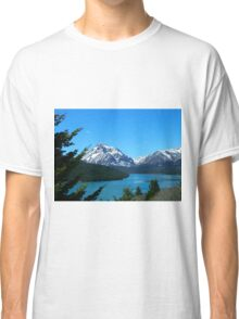 Clear Blue Lower Two Medicine Lake Classic T-Shirt