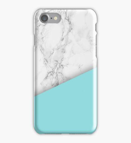 Marble paint dip design iPhone Case/Skin