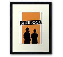 sherlock many happy returns Framed Print