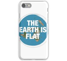 Flat earth research the truth iPhone Case/Skin