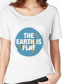 Flat earth research the truth Women's Relaxed Fit T-Shirt