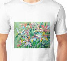 Floral motif Unisex T-Shirt